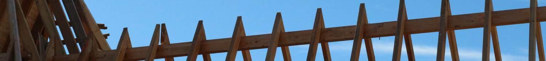 Ansichen eines Dachstuhls