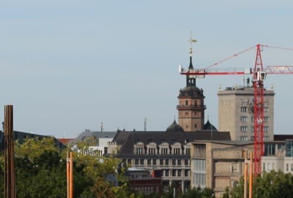Leipzig Panorama Innenstadt