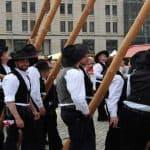 Maibaumsetzen der Zimmererinnung Dresden 2017